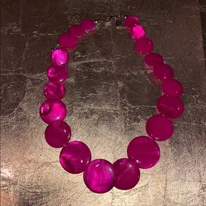 Charming Charlie pink necklace